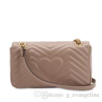 Bolsas de luxo Marmont Bolsas de ombro das mulheres Designer 2018 Messenger Bags cadeia crossbody bag