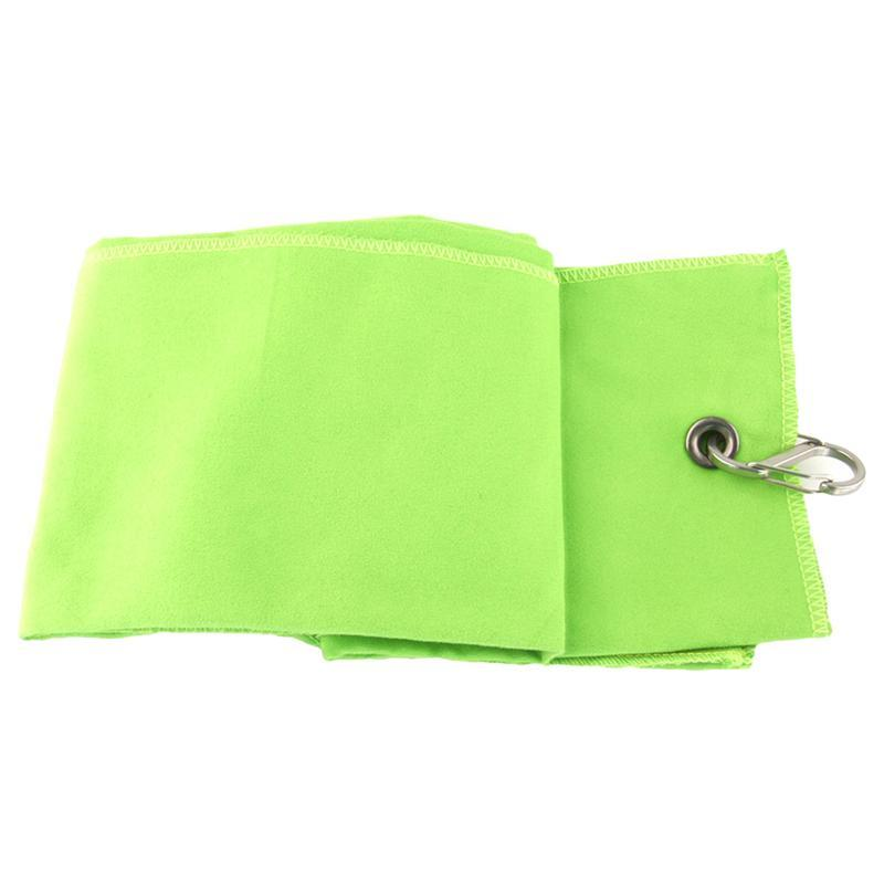 Golf Towel Swimming Towel Set Super Absorbent and Fast Drying Perfect for Beach Gym Camping Yoga (Green)