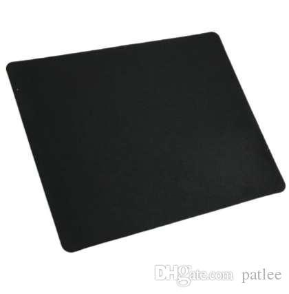 Schwarze dünne quadratische Mausunterlage-Matte Mousepad für PC optische Laser-Mäuse-Trackball-Mäuse