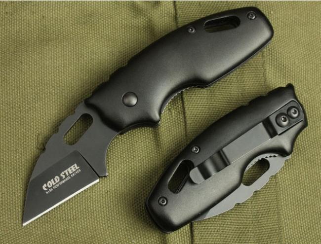 COLD STEEL X37 710MTS Couteau de poche pliable 440C Lame Poignée en aluminium Camping couteau de survie de la freeshipping