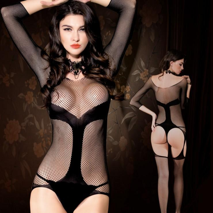 sex lingerie suit pajamas fishnet bodysuit, body transparent seamless underwear lace body stocking,women stripper clothes 8853 S1012
