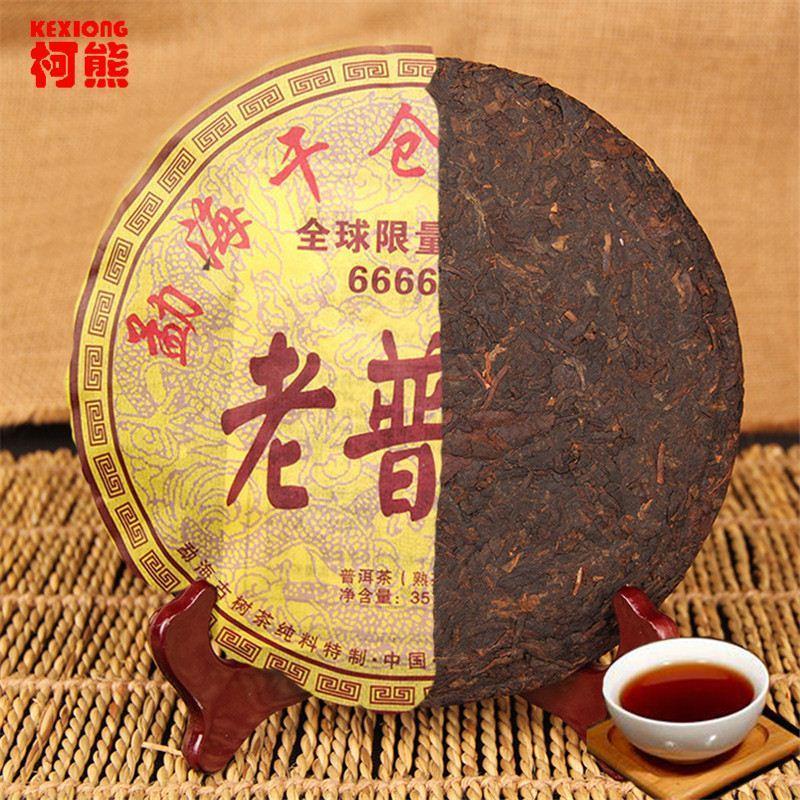 C-PE024 Китай Пу эр Оптовая 357 грамм китайский чай пуэр, китайский Юньнань Pu'er чай здоровья чай, зеленый пищи потеря веса ча