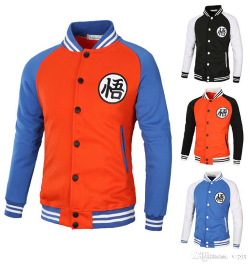Anime Wintermantel Dragon Ball Z Sohn Goku Verdicken Jacke Fleece Pullover Hoodies Neu