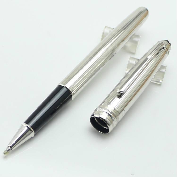 Люксовый бренд Пикс Германии новые прибыл роскошный МБ металл ручка-роллер канцелярские принадлежности металл Количество ручек
