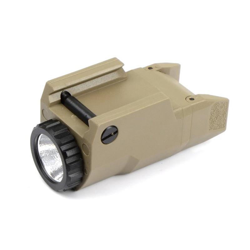 التكتيكية المدمجة APL ضوء ثابت / حظة / ستروب مصباح يدوي APL-C LED الضوء الأبيض