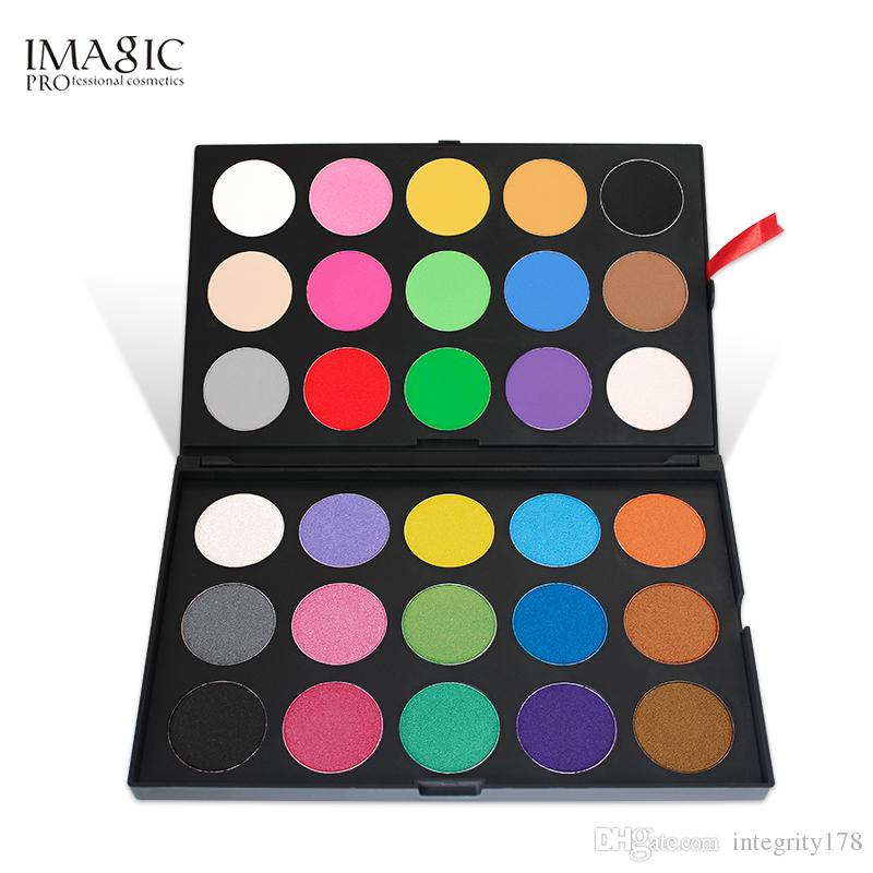 IMAGIC Professional 30 Color Eyeshadow Palette Shimmer Matte eyeshadow Powder Beauty Product Cosmetics Pallete 12sets/lot DHL