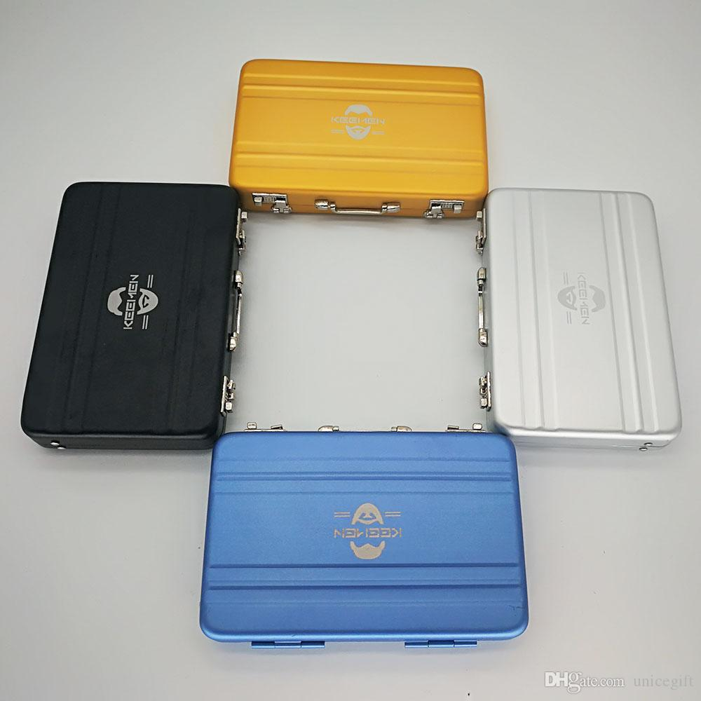 Alloy Case Box Business ID Name Credit Card Holder Cover Name Cardcaser