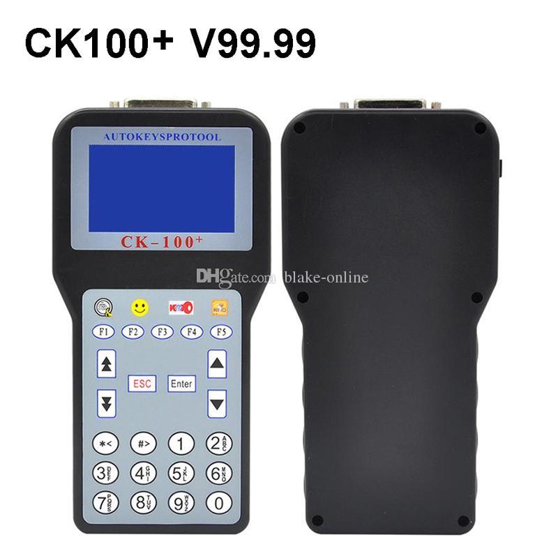 Nuovo programmatore chiave auto CK100 Silca SBB con ultima generazione V99.99 Strumento immobilizzatore chiavi multilingue