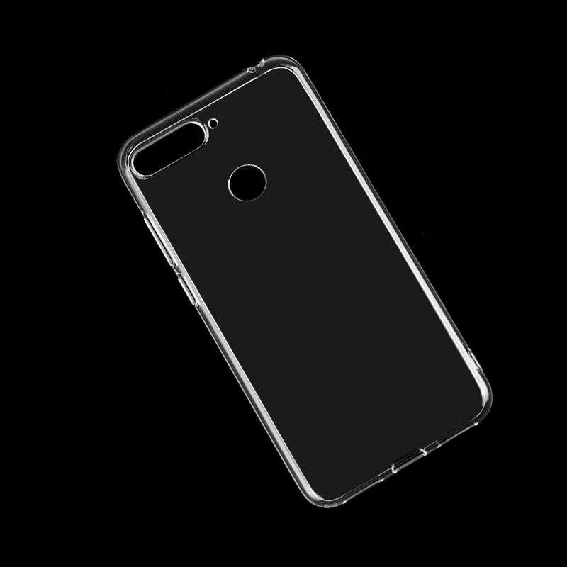 brand new 93527 690b8 Clear Case For Huawei Honor 7A Pro Transparent Ultra Thin Soft TPU Mobile  Phone Back Covers Matte Skins Protective Shell Silicone Coque Cell Phone ...