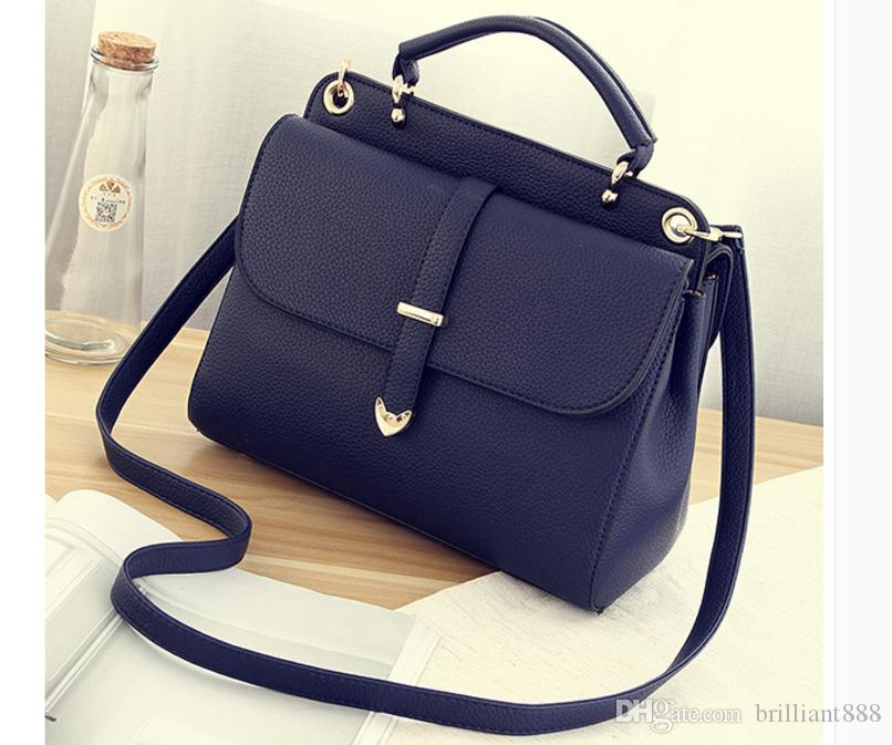 Бесплатно отправить горячий 2018 новый стиль корейский версия сумка одно плечо сумка крест пакет мода женщины сумка