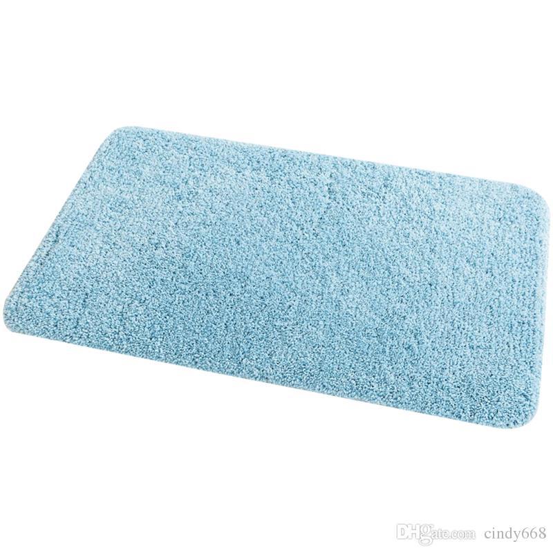 6 farben bettmatte für dekor mikrofaser bad teppiche in hause rutschfeste tapis de bain für wohnzimmer bad küche carpet toilette teppiche