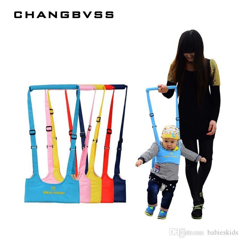 Cintura da passeggio per bambini Cinghietti per cinghie regolabili Baby Learning Walking Assistant Fascia per bebè per bambini Protezione per imbracature di sicurezza per bambini