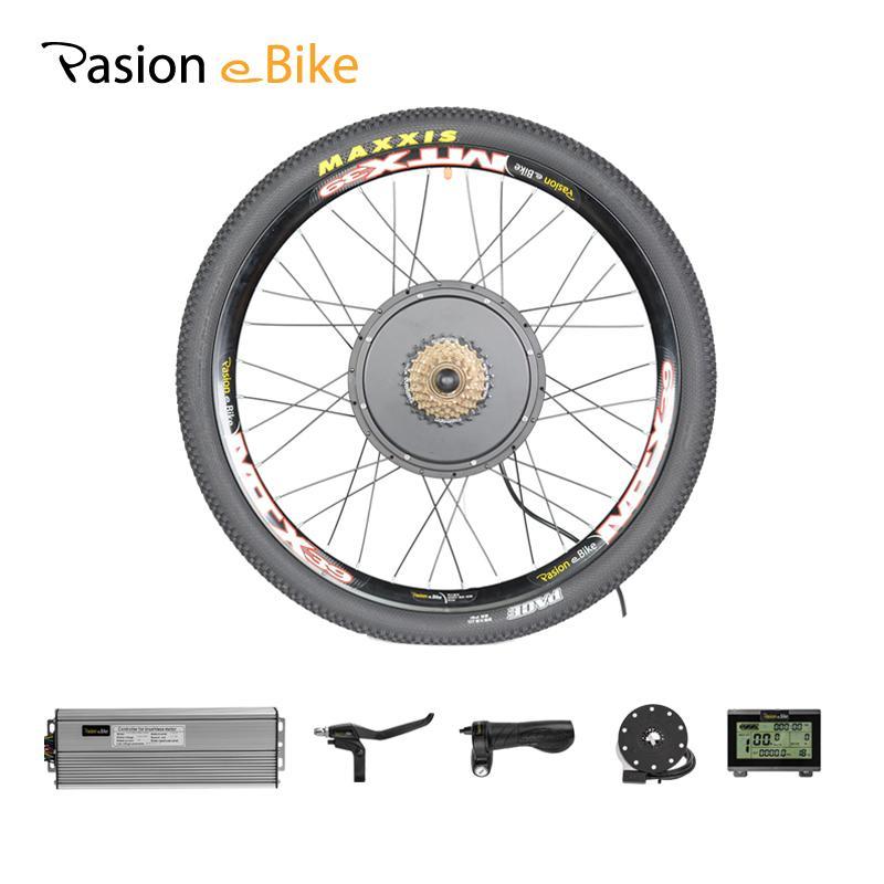 wholesale Kit 48V 1000W Motor Electric Bicycle Conversion kit Rear Wheel Motor MTB Electric Bike Kit 1000W Motor Wheel