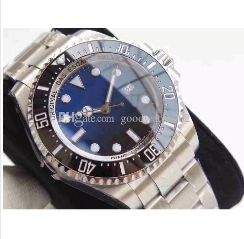 2018 Top Ghost King N Factory V7 versione V7, orologio da anello in ceramica, 2836 Macchina automatica Macchina zaffiro, super impermeabile orologio. Acquisti gratuiti