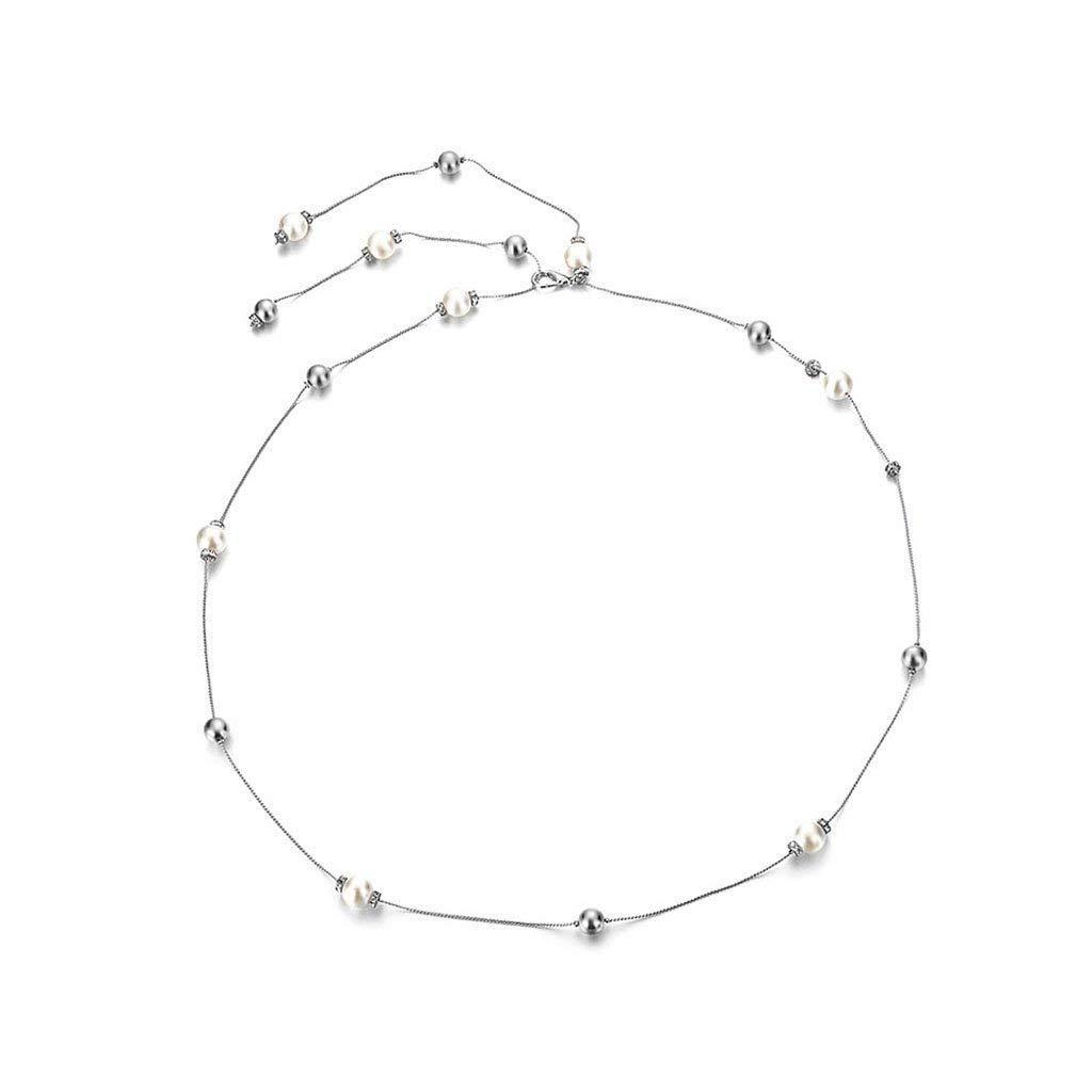 Cinto de Vestido das Mulheres Beads Rhinestone Charme Cadeia Magro Moda 120 cm tamanho Único