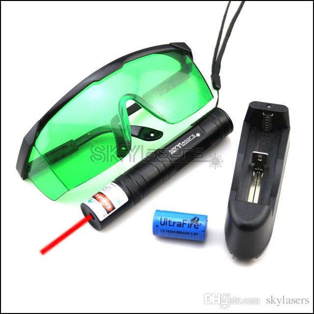 Caricatore per occhiali di protezione per penna a puntatore laser rosso a fuoco fisso RS1 650nm