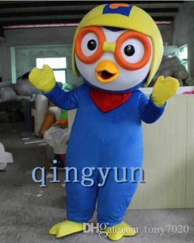 Customade Pororo adult Cartoon//Mascot costume Unisex fancy dress for Festival