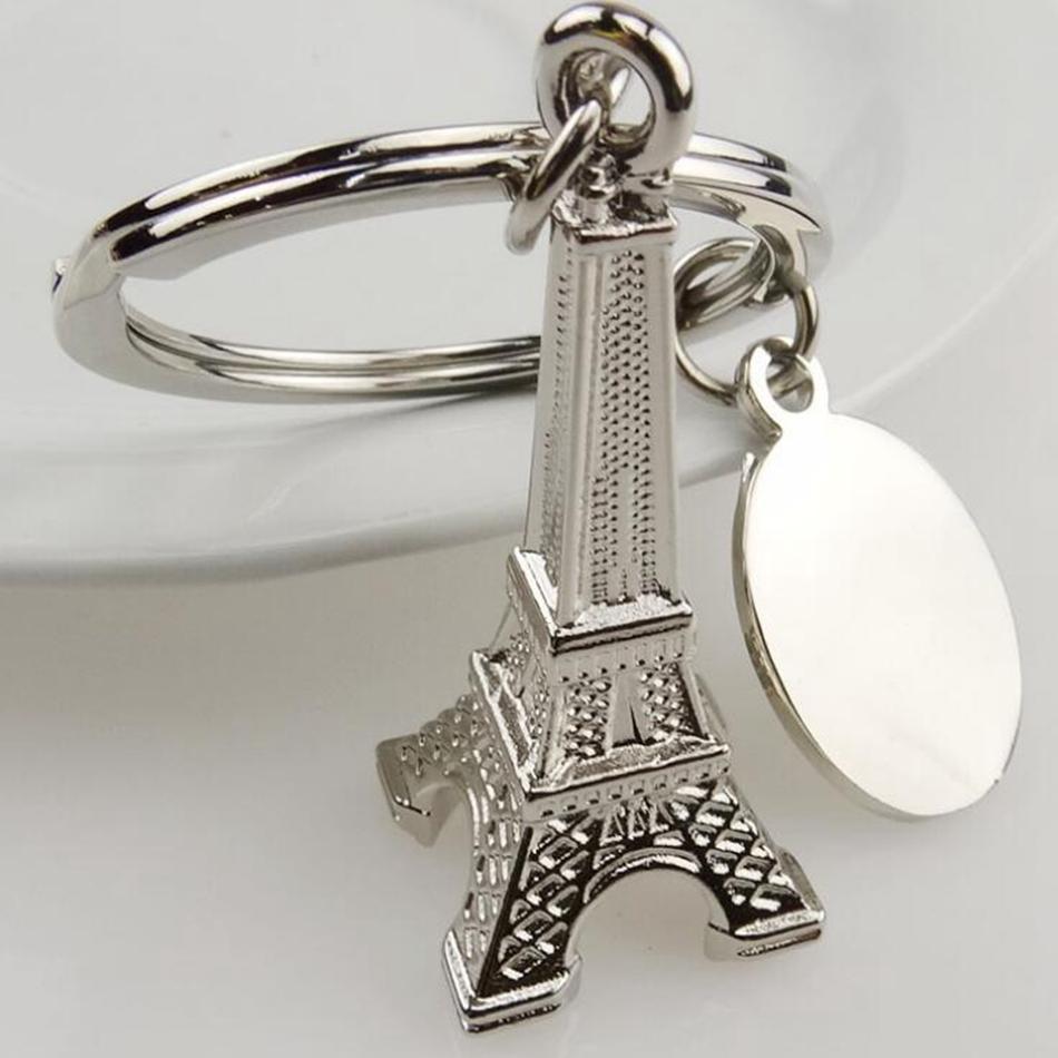الفضة برج ايفل كيشاين باريس تور إيفل كيرينغ الفرنسية تذكارية نموذج قلادة مفتاح سلسلة