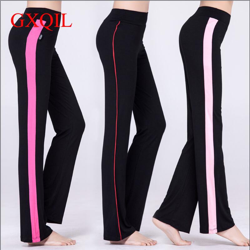 GXQIL High Quality 2017 New summer Sexy Women Yoga leggings Pants Fitness Tights girls Running Gym Elastic large size Sportswear