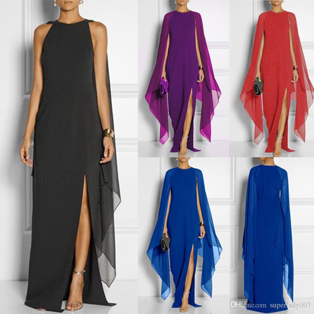 Chiffon das mulheres do verão longo dress queen van dress vestidos casuais das mulheres vestidos de festa das mulheres vestido longo saias