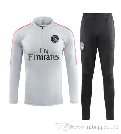 timeless design aa448 78e4e 2018 PSG Quality Premier League Arsenal Home2019 2019 Away Soccer Tracksuit  Se Manchester City Man United Football Training Suit From Mbappe1108, ...