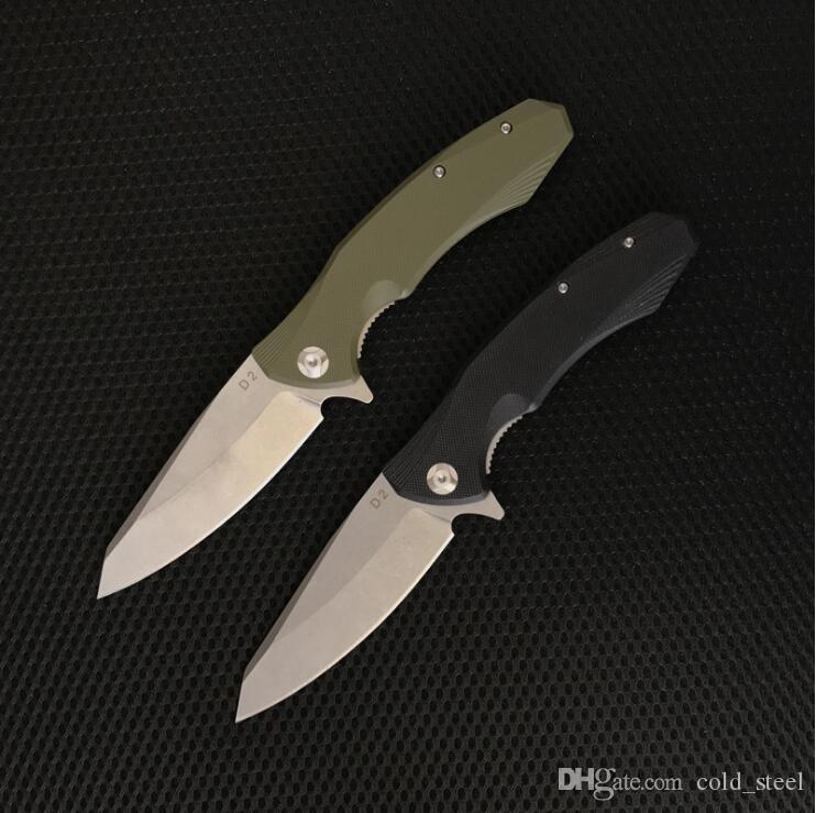 EF228 HY003 D2 lama G10 tattica di caccia della lama della multi degli attrezzi di sopravvivenza della tasca lame del regalo 1pcs ADCO