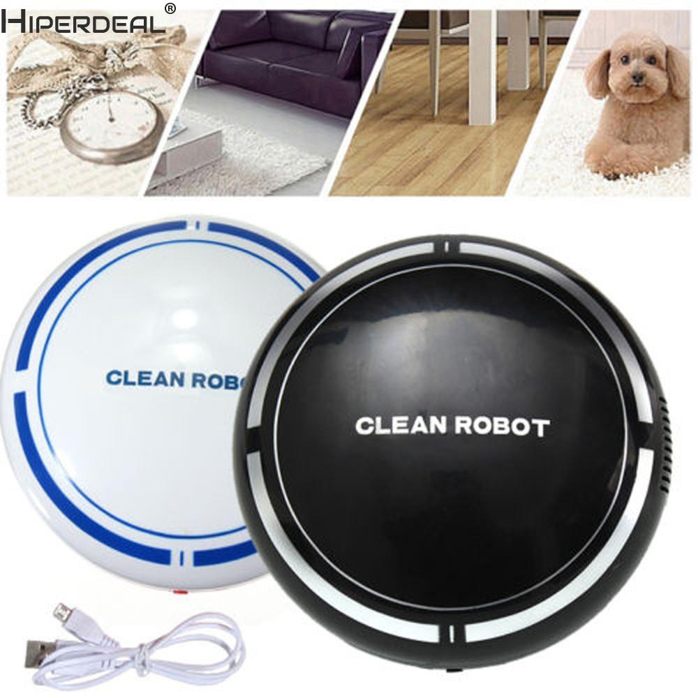HIPERDEAL Smart House Automatic USB Rechargeable Smart Robot Vacuum Floor Cleaner Sweeping Suction