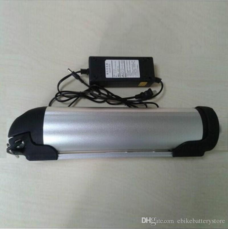 Ücretsiz Nakliye Çin tedarikçisi Bir Sınıf Aşağı tüp 48 V 13Ah Şişe e Bisiklet Pil şarj ile fit 750 W Bafang BBS02 BBS03