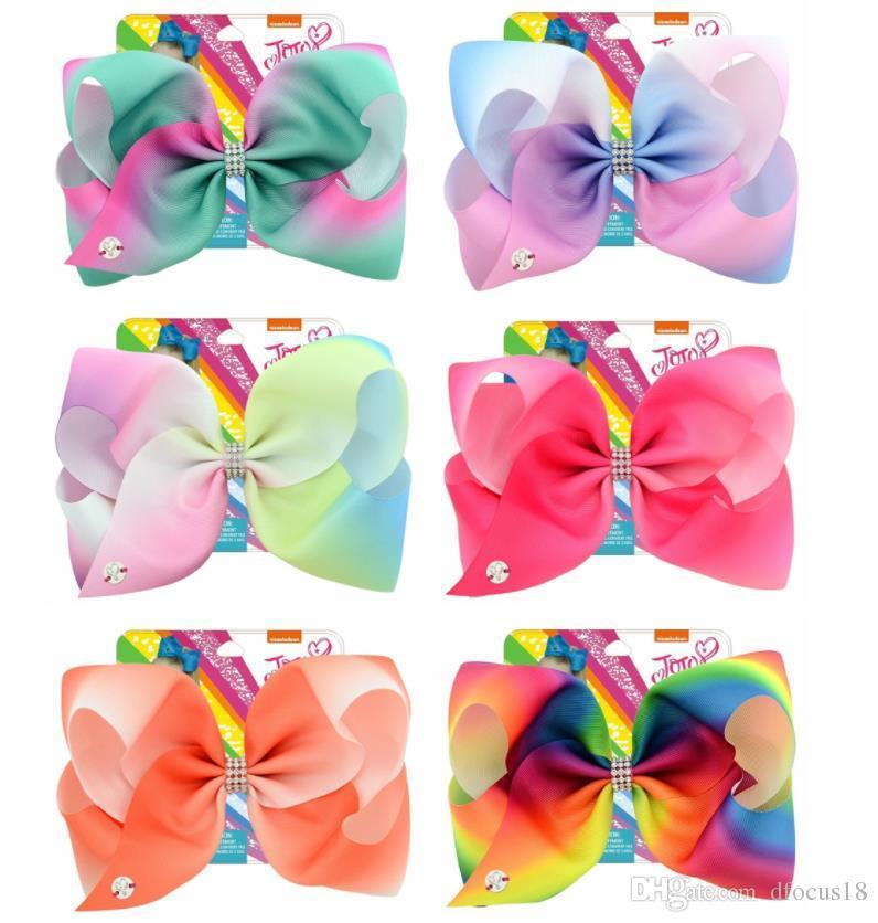 JoJo Siwa Pack Of 2 Hair Bows Choice of 2 Sets New On Card