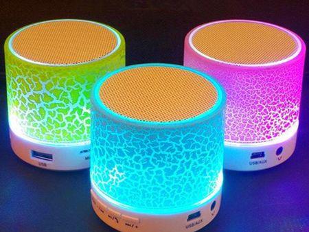 A9 большой трещины Bluetooth динамик выходная мощность 3 Вт мини портативный LED красочные блики беспроводной мобильный телефон рекламные подарок спикер