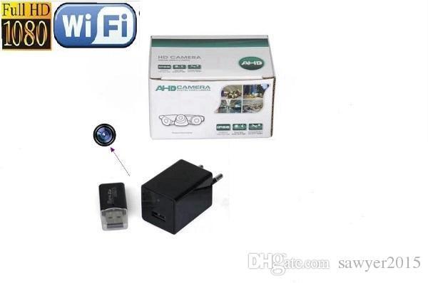 1080p HD WiFi Charger Caméra Z99 EU US AC AC ADAPTATEUR Caméra Caméra de téléphone USB PHONE CHARGEUR Caméra Surveillance en temps réel