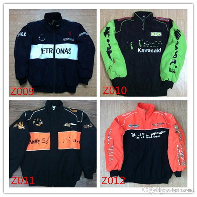 2018 EXCLUSIVE Embroidery Diverses marques de voitures Combinaison F1 Team Racing JACKET