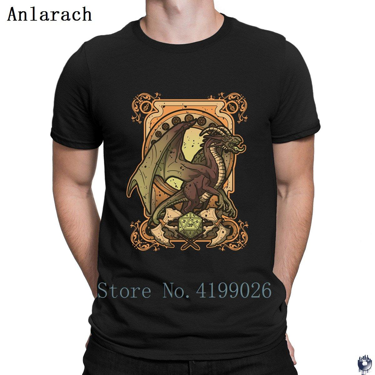 Dark Dragon tshirt S-3xl Pictures Design Top Quality t shirt for men Fit Spring Costume Anlarach New Style
