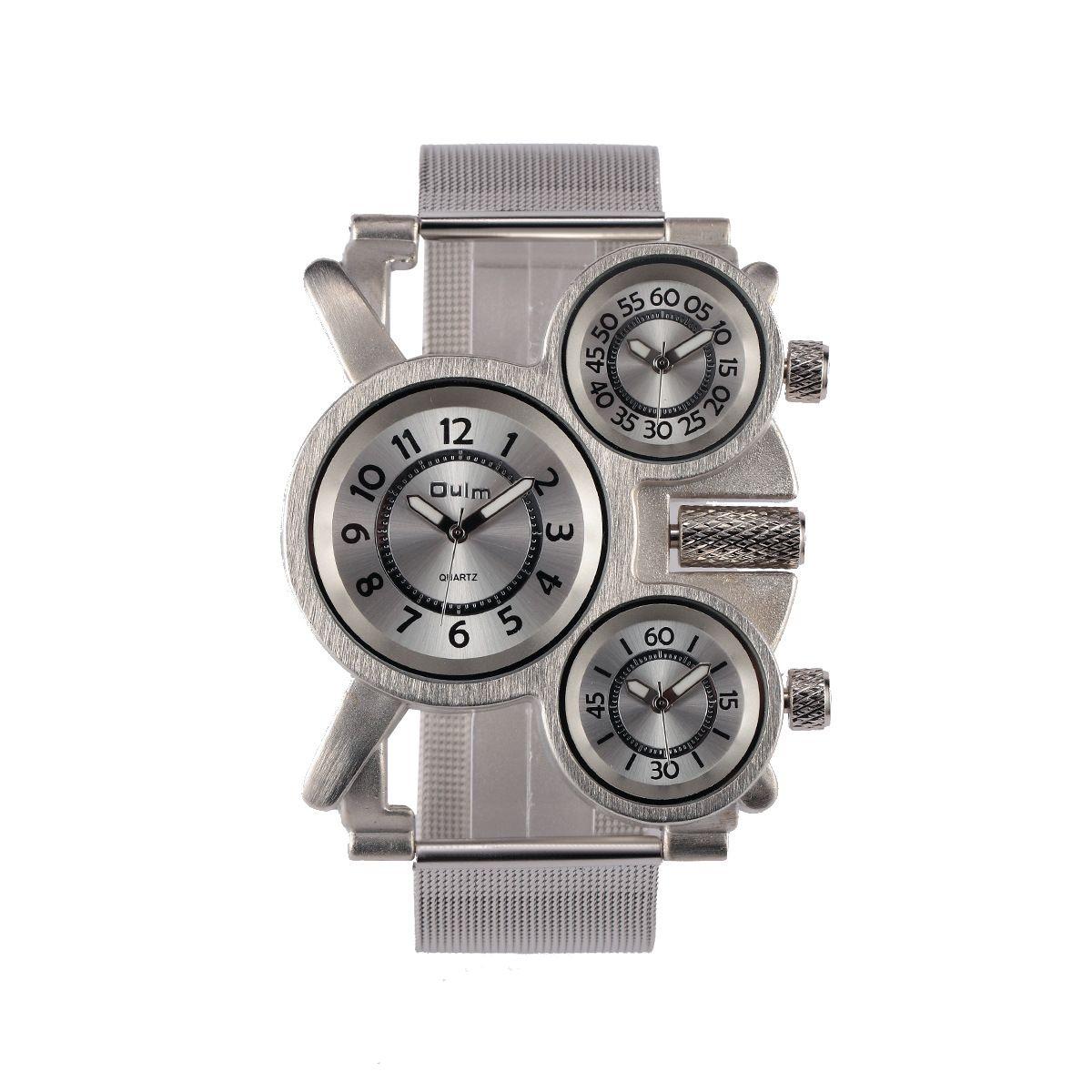Vigilanza di modo di disegno di alta qualità di alta tendenza dell'orologio da polso dell'esercito degli uomini del quarzo degli uomini dell'esposizione di tempo tre del tempo 2018