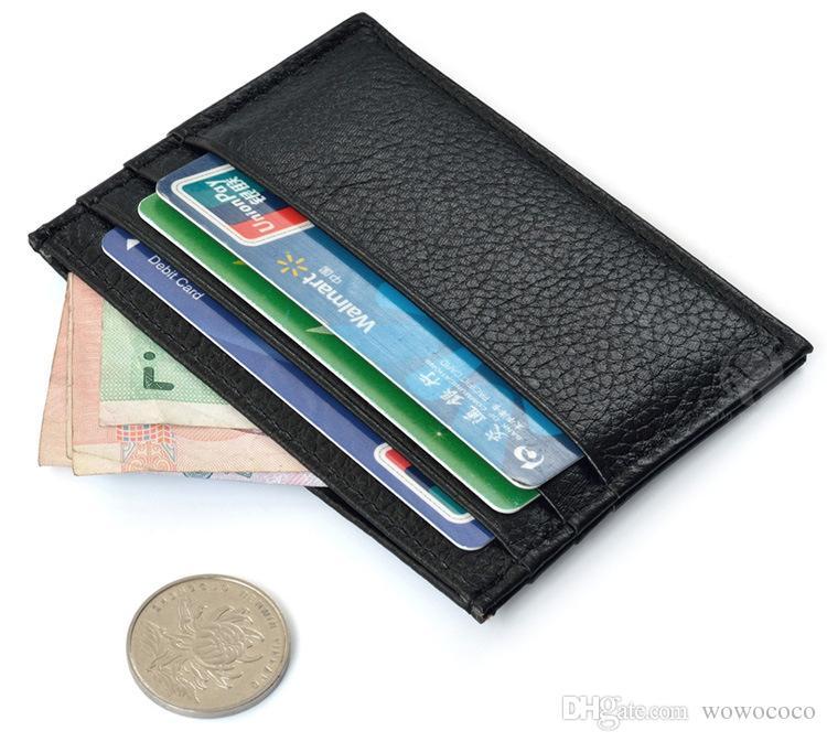 جديد أزياء الرجال النساء محافظ خمر تصميم جلد صغير محفظة محفظة بطاقة حامل محفظة صفر محفظة اللون متنوعة a153