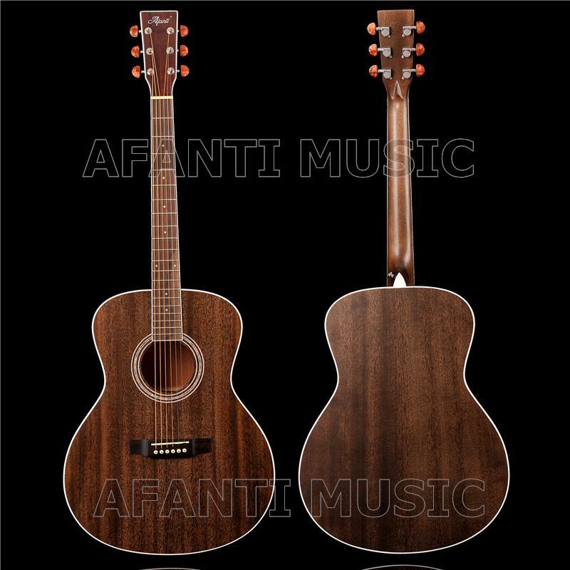 Afanti Music (AFA-915)의 41 인치 왼손 어쿠스틱 기타