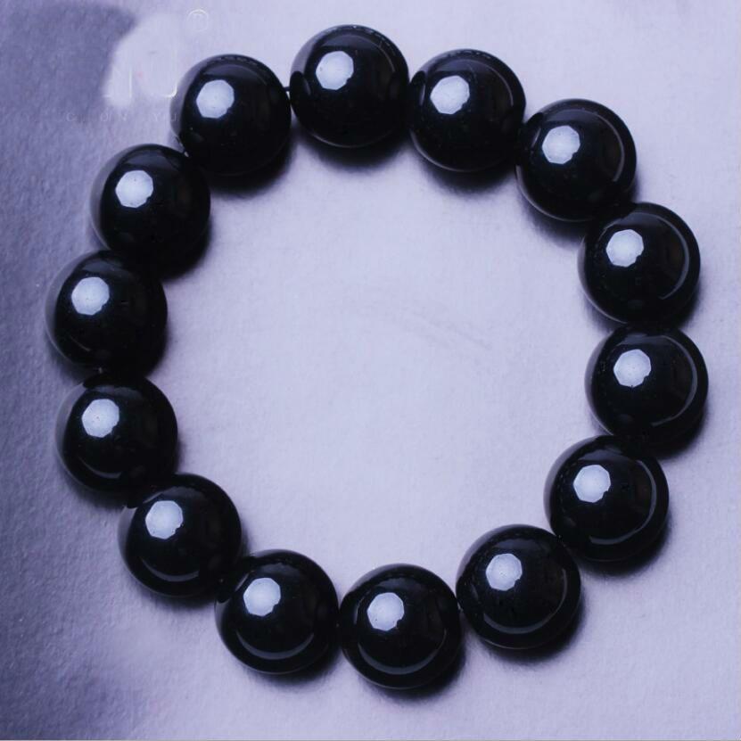 designer jewelry bracelets for women men obsidian crystal black beaded bracelets hot fashion free of shipping
