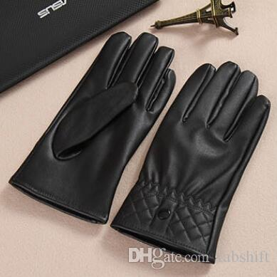 Ladies cycling gloves All-washed leather touch gloves for both men and women keep warm in winter