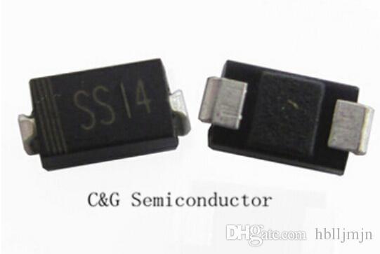 200PCS Schottky Diode 1A 40V 1N5819 SS14 SMD SMT