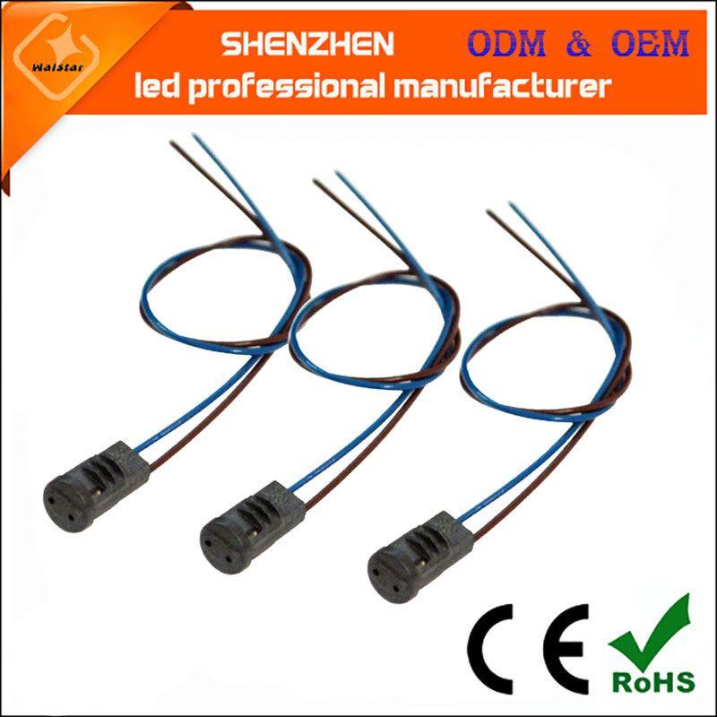 Alta qualidade 50CM G4 Tomada suporte da lâmpada suporte da lâmpada G4 levou G4 lâmpada 12V 10-20W acessórios de iluminação