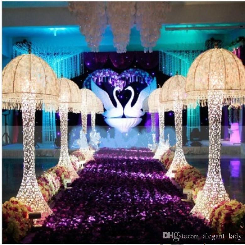 10m/lot 1.4 m Width Romantic White 3D Rose Petal Carpet Aisle Runner For Wedding Backdrop Centerpieces Favors Party Decoration Supplies