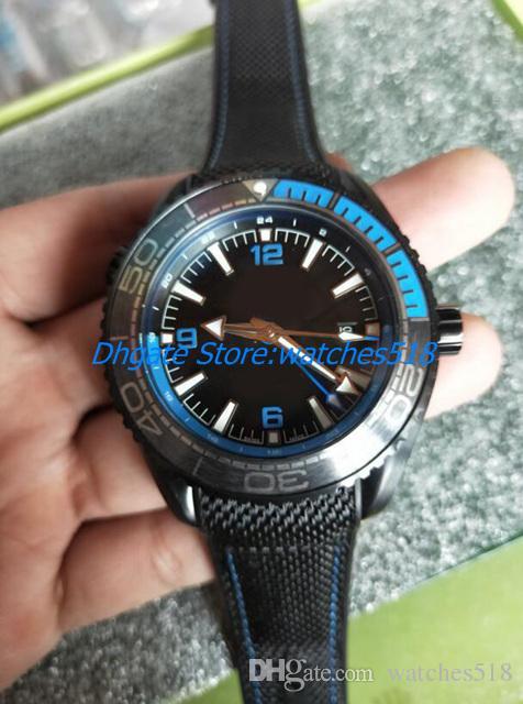 Новое высокое качество Мужские автоматические часы 215.92.46.22.01.001 44mm Deep Dive 600m Cal 8906 Спорт Наручные часы