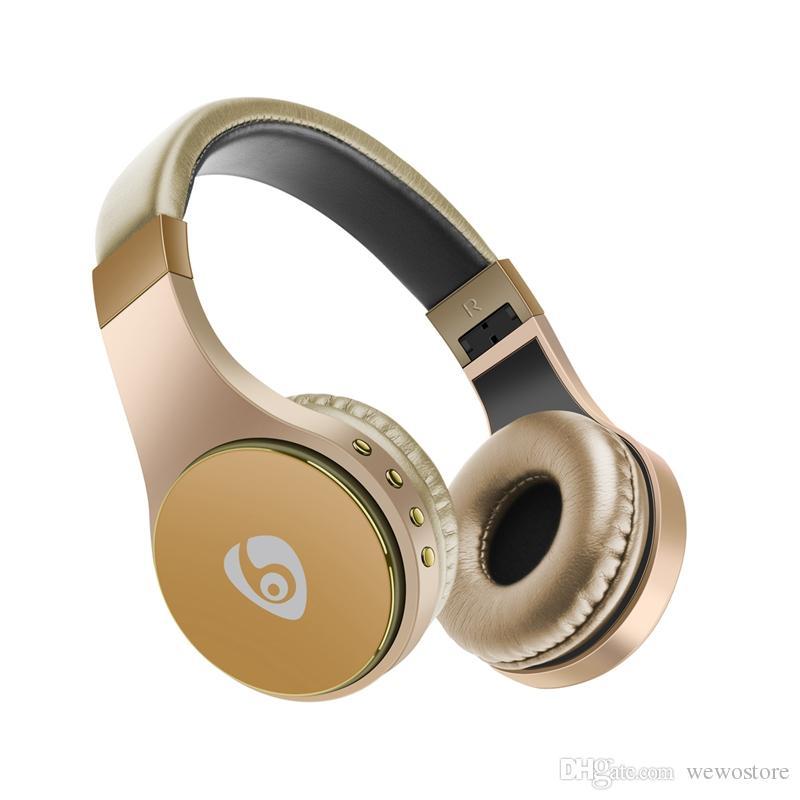S55 Gaming Headset Bluetooth Auriculaire Support carte TF Pliable Bandeau écouteurs de casque sans fil pour Smart Phone freeshipping