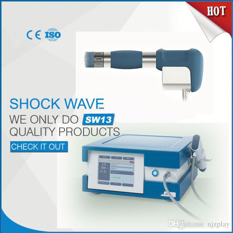 Compresor importado alemán 7 barras ilimitadas Shot Shock Wave Machine / Shockwave Therapy Machine / Extracorporeal Shock Wave Equipment Equipment CE