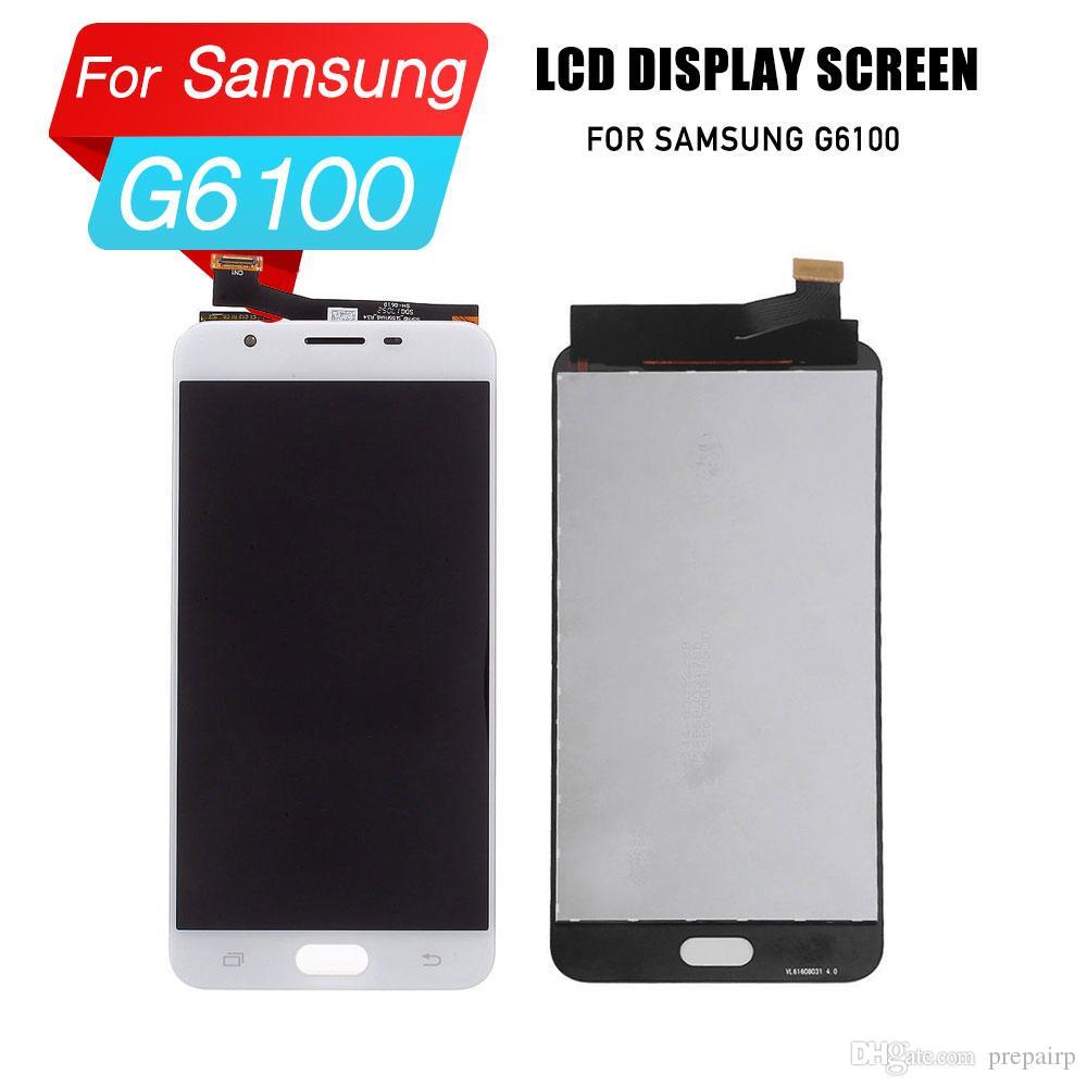 PrepairP SAMSUNG G6100 LCD ekran için LCD sayısallaştırıcı ekran dokunmatik ekran meclisi samsung SAMSUNG G6100 için lcd ekran