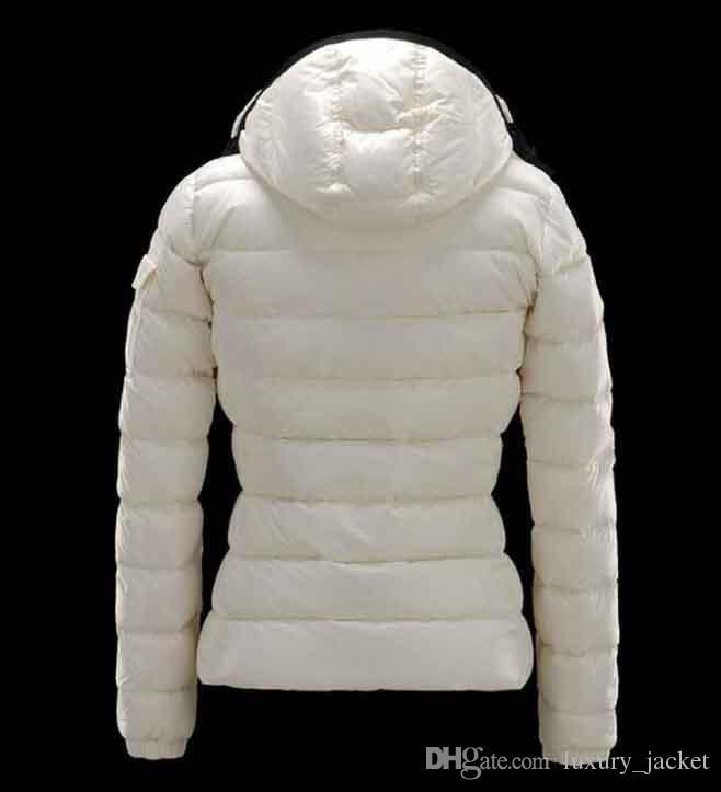 d8c6b2d37 2019 Fashion Brand M O N C L E R Women DOWN JACKET SHORT COAT MAYA OUTWEAR  Down Jacket Jacket Coat Five Colours Hooded Coat Size:S XXXL From ...