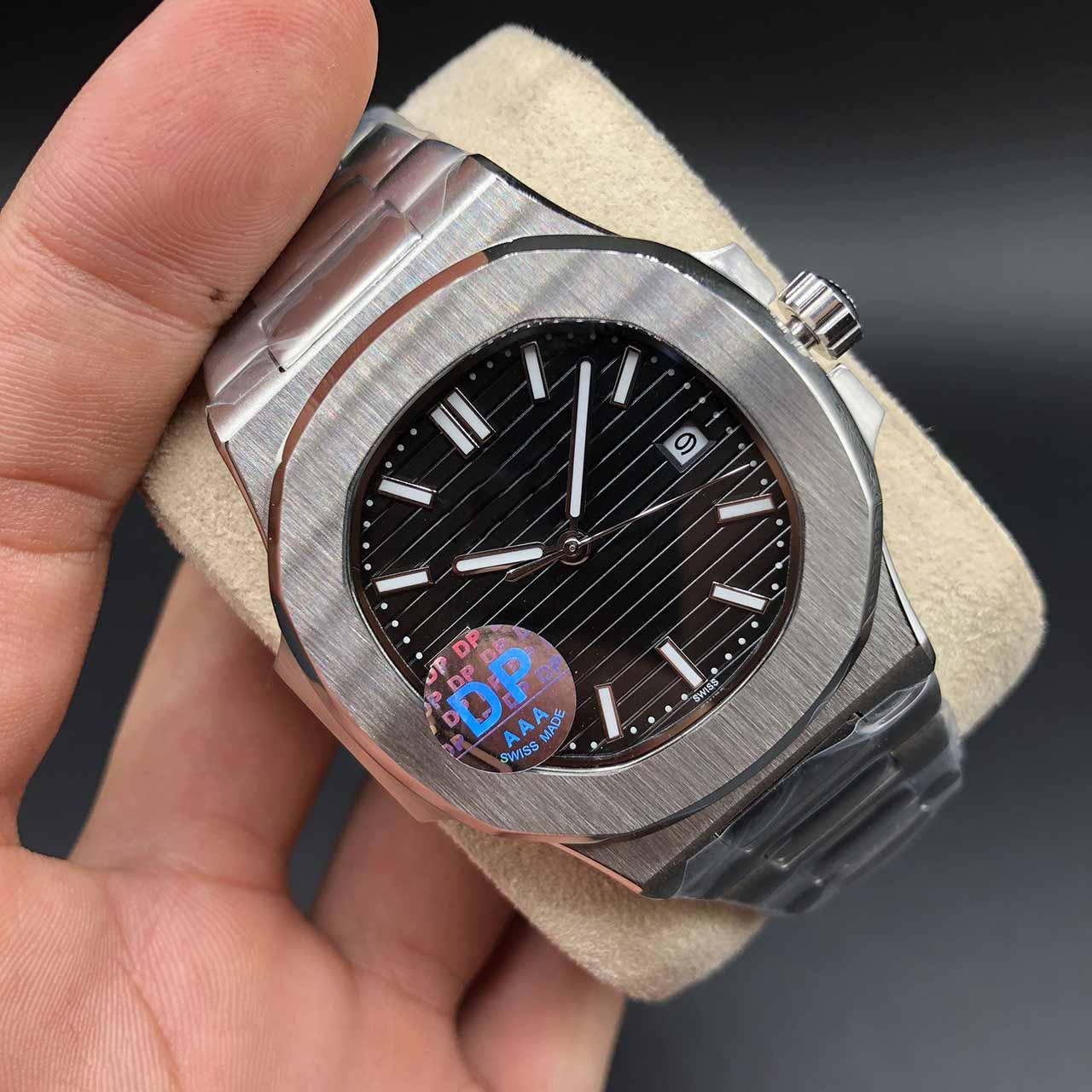 Joan007 Top Quality Blue Dial Asia 2813 Movement Sapphire Wristwatches 40mm Mechanical Transparent Automatic Mens Watch Watches