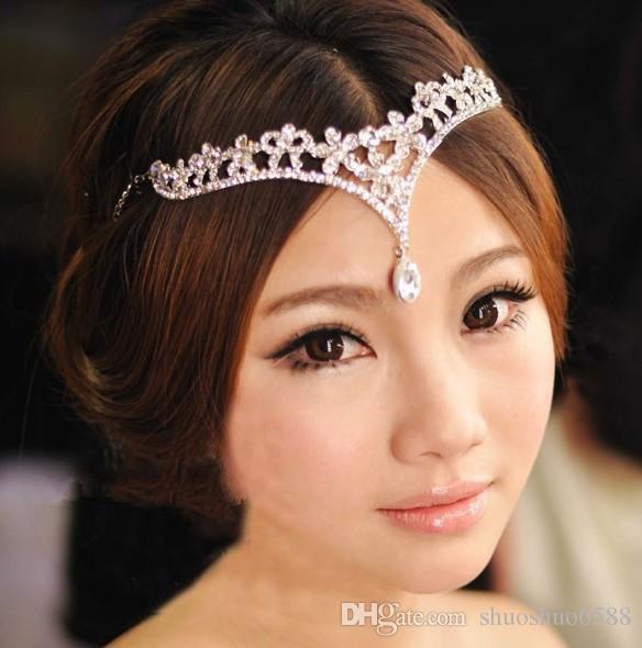 Kronenreifen-Brautjunferkleid-Hochzeitszusätze der neuesten Art heißer Verkaufsart und weise Brautschmucklegierungsdiamantbraut shuoshuo6588