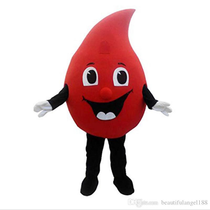 الأحمر قطرة من الدم التميمة حلي يتوهم اللباس هالوين التميمة حلي للرفاهية العامة