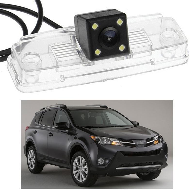 Neue 4 LED-Auto-hintere Ansicht-Kamera-Rückunterstützung fit CCD für Toyota RAV4 2014 2015